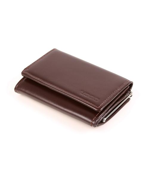 VOOC Klasyczny portfel damski PPD8 brąz, portfel Akcesoria QZ QZ-4w ofercie