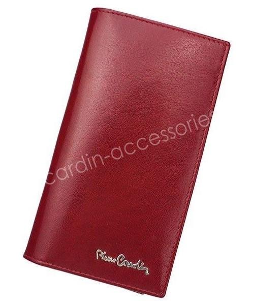 5b15678f01b64 Portfel Pierre Cardin Portfel męski skórzany YS520.10 3011 Czerwony