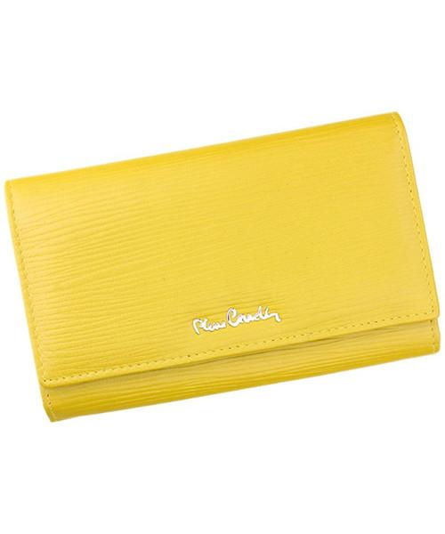 97a3b0fc87220 Portfel Pierre Cardin Portfel damski skórzany TILAK10 455 Żółty