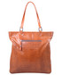 Shopper bag Bellucci Torebka damska skórzanaR243 Ruda