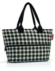 shopper bag Torba Shopper e1 fifties black - torebkarnia.pl