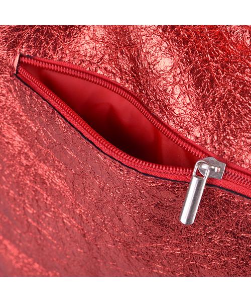 432941bef9f52 Shopper bag Kemer Torebka damska skórzana 712m Czerwona