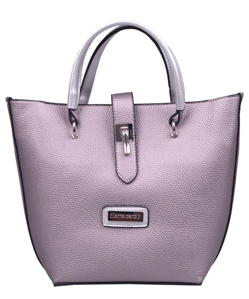 dda35303d2d95 Shopper bag Pierre Cardin Torebka damska 3521 Antracyt