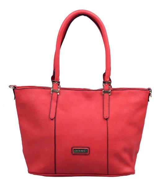 423ae8e36261c Shopper bag Pierre Cardin Torebka damska 529 Czerwona