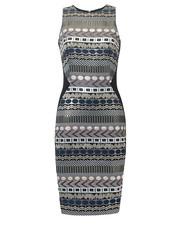 sukienka Blackorwhite - Ołówkowa sukienka z żakardu