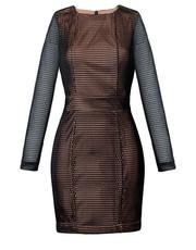 sukienka Blackorwhite - Sukienka ala transparentna