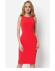 603e875916 Sukienka BlackorwhiteCzerwona dopasowana sukienka - BlackOrWhite.pl