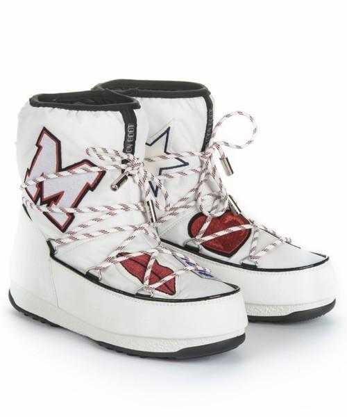 120f38d531a37 Śniegowce Buty WE LOW MSGM PATCH - Sportofino.com Moon Boot