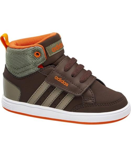 sportowe buty dziecięce Adidas buty dziecięce Hoops Cmf Mid Inf