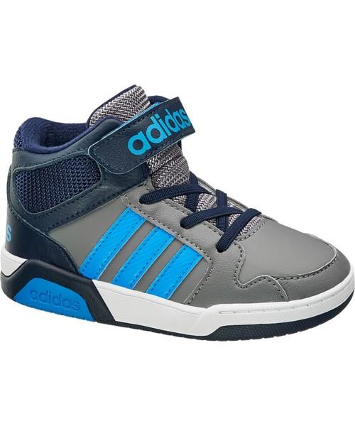 Factory Price ADIDAS Szare buty sportowe dziecięce z zapięciem na rzepy