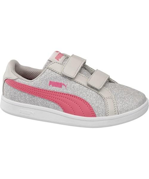 sportowe buty dziecięce Puma buty dziecięce Smash Glitz Glamm V Ps