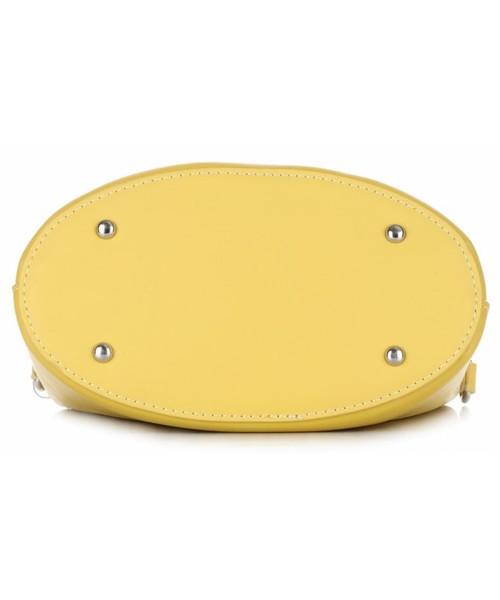 torebka David Jones Torebki Damskie Modne Ażurowane Listonoszki firmy Żółte