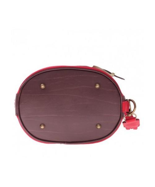316d45ad183c0 Plecak Genuine Leather Torebka Plecaczek miękka skóra naturalna Czerwona