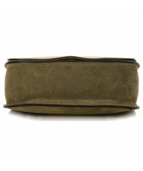 20cdb4db779d0 Listonoszka Genuine Leather Torebki Listonoszki Skórzane Firmy Zielona