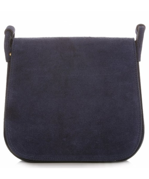68b6a7fb330dd Listonoszka Genuine Leather Torebki Listonoszki Skórzane Firmy Granatowa