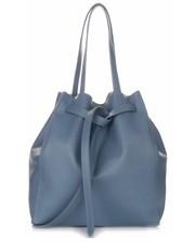 Shopper bag Włsokie Torebki Skórzane ShopperBag z Kosmetyczką firmy  Błękitna - panitorblska.pl Genuine Leather