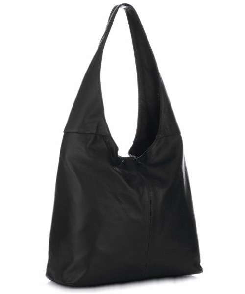 e2e615fd70285 Shopper bag Virus VITTORIA GOTTI Uniwersalna Torebka Skórzana ShopperBag  Miękka Skóra Wysokiej Jakości Czarna