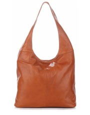 77b5570861206 shopper bag Uniwersalne Torebki Na co Dzień ze Skóry Naturalnej typu  ShopperBag firmy Vittoria Gotti Rude