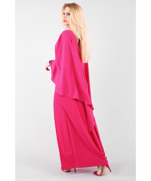 5799289a5d Sukienka Modoline Sukienka ELIZABETH Fuksja