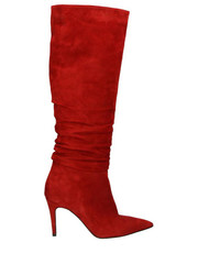 e65a529f82182 Czerwone buty damskie na obcasie kolekcja jesień 2017 - Butyk.pl