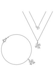 6ed4614097 Komplet biżuterii Komplet z koniczyną  172  - myness.pl Myness