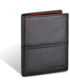 Portfel Valentini Portfel męski Black&Red Diamond 115 Czarny  Skóra cielęca  Na zatrzask