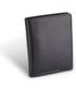 Portfel Valentini Portfel męski 001-01690-0129-01 Czarny  Skóra cielęca