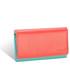 Portfel Valentini Skórzany portfel Colors 531 Czerwony  Skóra naturalna  Na zamek