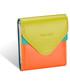 Portfel Valentini Mały portfel skórzany Colors 417 Czerwony  Skóra naturalna  Na zatrzask