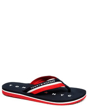 Japonki damskie Japonki tommy loves NY beach sandal (2391697D) - Intershoe.pl Tommy Hilfiger