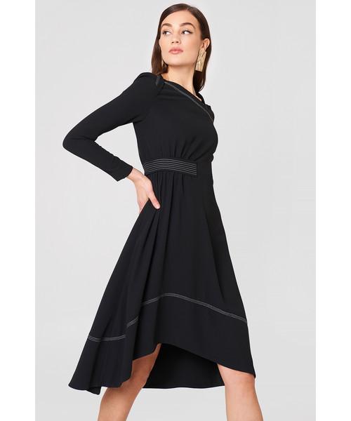 cd732f0648 Sukienka Mango Sukienka z ozdobnymi szwami