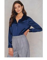 NA KD Jeansowa koszula z falbankami, koszula Butyk.pl  fP9mS