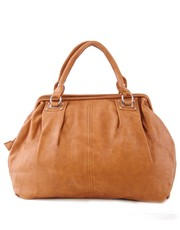 Kuferek Torba do ręki Paris 10-09 Light Brown - verabags.pl VERA BAGS